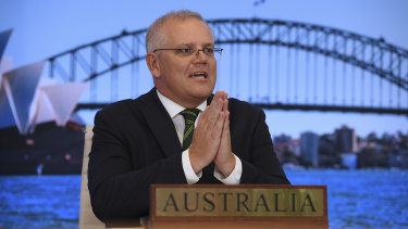 Scott Morrison said the distribution of COVID-19 vaccines would be boosted to low and middle-income countries in the Asia-Pacific.