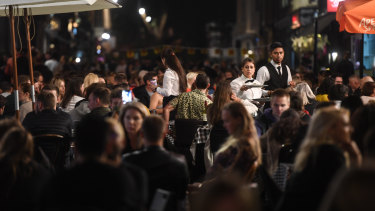 Restaurants, pubs and bars in the UK will have to close at 10pm under the new rules.