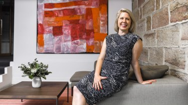 """""""I love the chase, it just excites me"""": Balmain real estate agent and success-driven Sydneysider Megan Smith."""