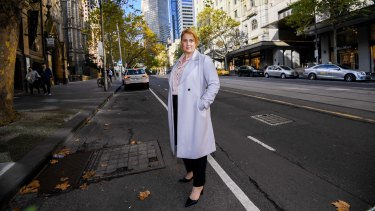Property Council executive director Danni Hunter is calling for a plan to revitalise the city on the scale of Postcode 3000, credited with transforming the CBD in the 1990s.