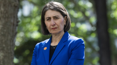 NSW Premier Gladys Berejiklian said she believed her department had acted appropriately.
