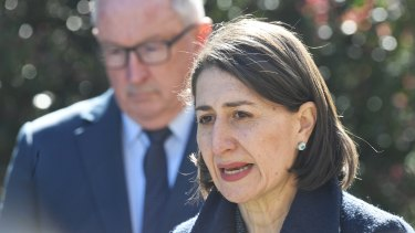 NSW Premier Gladys Berejiklian asked young people to consider visiting fewer places over the next few weeks to limit their chances of spreading the virus.