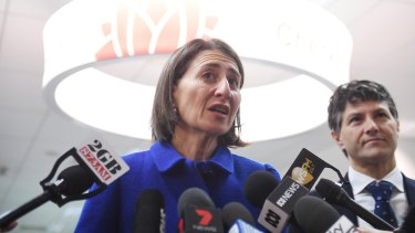 Premier Gladys Berejiklian on Tuesday.