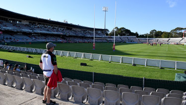 The NRL is planning ahead to combat the impact of the coronavirus outbreak.