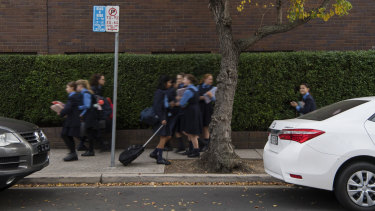NSW police issued 7811 fines in school zones between July 2017 and April 2018.