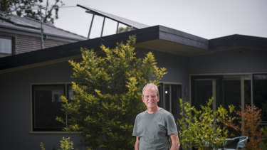 David Green is one of a growing number of Australians who've installed rooftop solar panels.