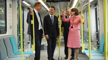 The driverless metro trains are due to start regular passenger services in May.
