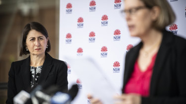Premier Gladys Berejiklian said NSW was trying to strike the right balance with COVID advice.