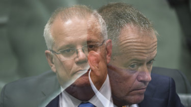 How will voters see them? Scott Morrison and Bill Shorten.