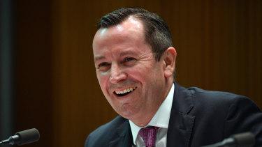 WA Premier Mark McGowan said the surplus would be substantial.