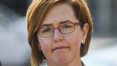 Health Minister Meegan Fitzharris.