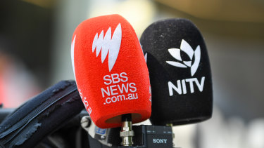 The SBS newsroom in Sydney has closed for the day.
