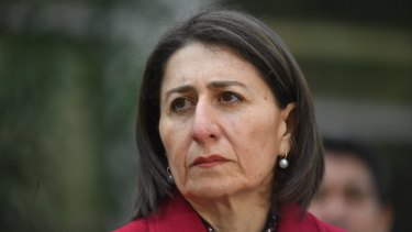 NSW Premier Gladys Berejiklian approved of more than $100 million going to councils in Coalition-held seats.