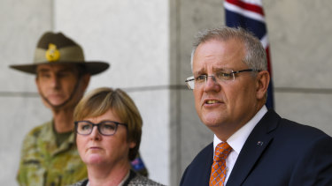 Scott Morrison says he will pursue restraint in the Middle East following the US drone strike on top Iranian military figure.