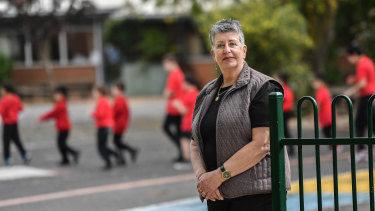 Loretta Piazza, principal of Meadowglen Primary School in Epping, said the slow return was sensible, but the sooner all students could get back, the better.