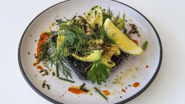 The swoon-worthy avocado smash with furikake seasoning.