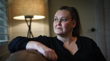 """Rebecca McCrohan was sexually abused while a member of Kenja in the 1980s. """"They absolutely ripped lives apart."""""""