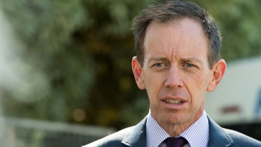 Corrections minister Shane Rattenbury on Tuesday.