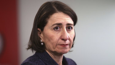 NSW Premier Gladys Berejiklian approved of more than $100 million going to councils in Coalition seats under a community grants scheme.