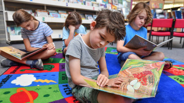 Teachers at Brunswick South West Primary School have made a concerted effort to find diverse books for their students.