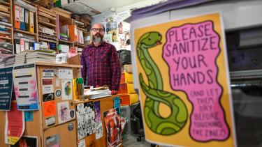 Luke Sinclair is the coordinator of long-running zine shop Sticky Institute.