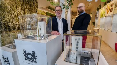 Trollbeads owners Jono Gelfand and Mikkel Monberg.