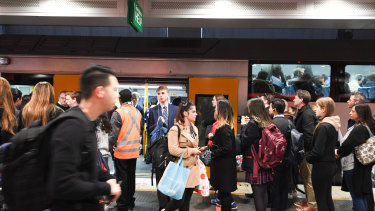 Sydney's existing heavy rail network is under pressure from strong growth in patronage.