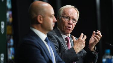 Smooth operator: Peter Beattie used his political street smarts to finally get John Grant out the door: