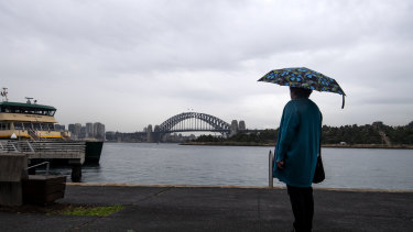 The Bureau of Meteorology issued a severe thunderstorm warning on Saturday.