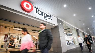 Wesfarmers' plan for Target is to shrink its store footprint and switch its focus to be more upmarket.