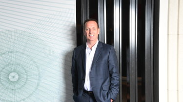 Metcash CEO Jeff Adams.