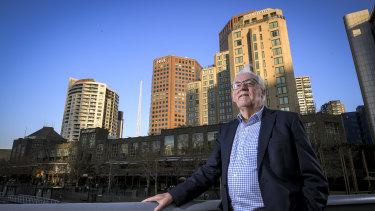 Urban historian Graeme Davison says Professor Yencken transformed Southbank.