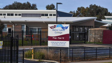Manor Lakes P-12 College was shut down after a senior student tested positive to COVID-19.