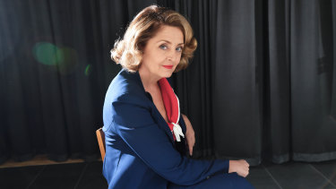 Jeanette Cronin as Bette Davis: ''Anyone who runs their own race is a gift to play.''