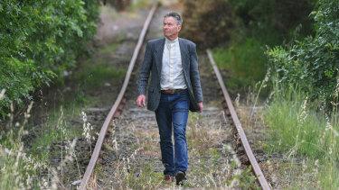 Cranbourne East vicar David Powys is  agitating for better public transport.
