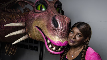 Marcia Hines is the voice behind the dragon in Shrek the Musical.