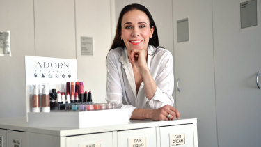 Briony Kennedy has chosen not to sell Adorn Cosmetics products through Amazon.