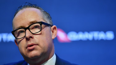 Alan Joyce: Despite the speculation, he isn't planning to go anywhere else anytime soon.