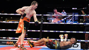 Next move: Jeff Horn looks certain to campaign at middleweight with a bout against WBA champion Rob Brant in the making.