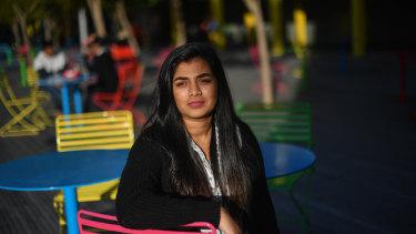 Niharika Hiremath has battled anxiety since she was a teenager.