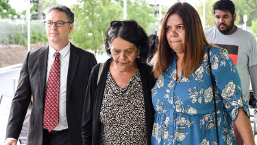 Naomi Williams' mother, Sharon, centre, wants her daughter to have not died in vain.