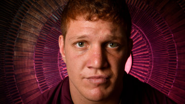 Queensland and Bulldogs prop Dylan Napa has been the target of the leaking of sex tapes on social media.