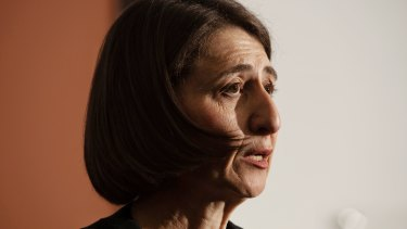 NSW Premier Gladys Berejiklian has denied approving council grants under the Stronger Communities Fund.