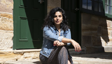 """""""It's just a beautiful way to commemorate the end of lockdown, especially for western Sydney"""": Here Out West writer and actor Nisrine Amine."""