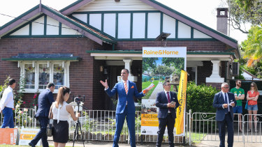House prices in Sydney rose 3.5 per cent last month, one of the biggest monthly gains since the late 1980s