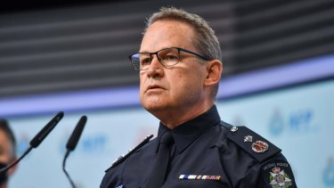 Victoria Police Deputy Commissioner Ross Guenther.