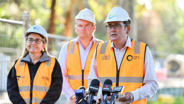 The Andrews government has instigated a gargantuan public works program since coming to office in 2014.