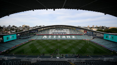 Demolition work is set to start on Allianz Stadium in January.