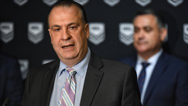 Peter V'landys may have timed his run when it comes to the NRL's free-to-air TV rights.