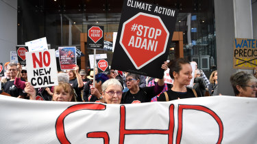 GHD, an engineering consultancy, has come under pressure from environmental groups over its work for the Adani coal mine in Queensland.